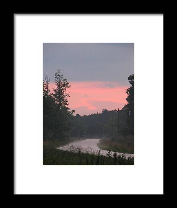 Storm Framed Print featuring the photograph After The Storm by Kelly Mezzapelle