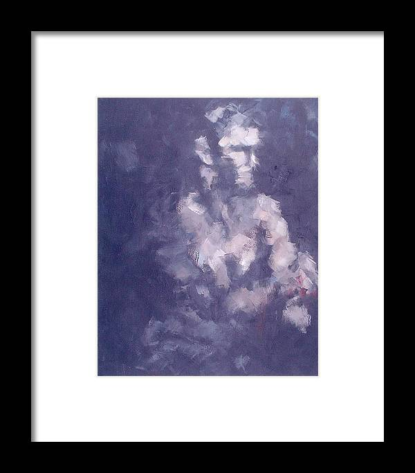 Figurative Framed Print featuring the painting Aftermath Of A Dictator by Harriet Muller