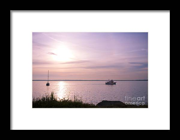 Sailing Framed Print featuring the photograph Afternoon Ambiance by Idaho Scenic Images Linda Lantzy