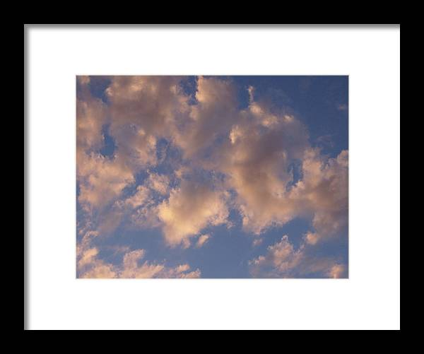 Sky Framed Print featuring the photograph Afternoon Clouds by Susan Pedrini