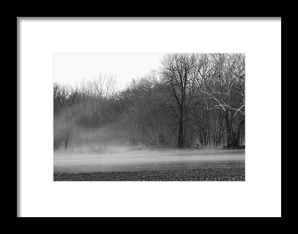 Fog Framed Print featuring the photograph Afternoon Fog Rising by Michelle Hastings