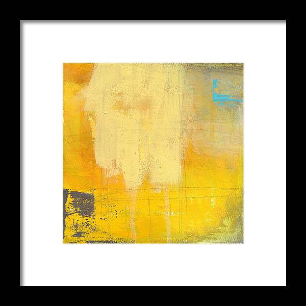 Abstract Framed Print featuring the painting Afternoon Sun -large by Linda Woods