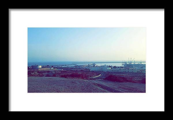 Nature Framed Print featuring the photograph Agadir Nature by Hassan Boumhi