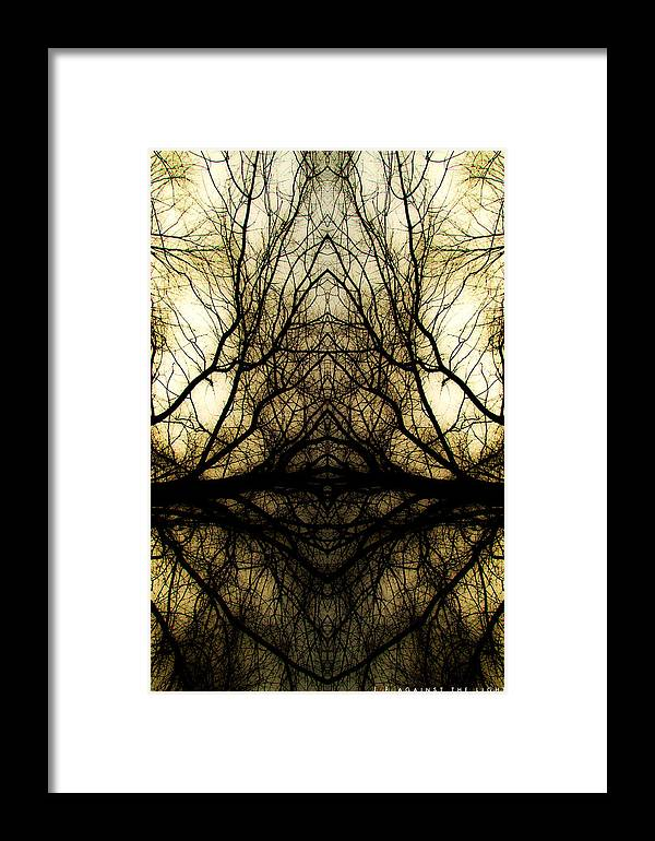 Faith Framed Print featuring the photograph Against The Light by Jonathan Ellis Keys