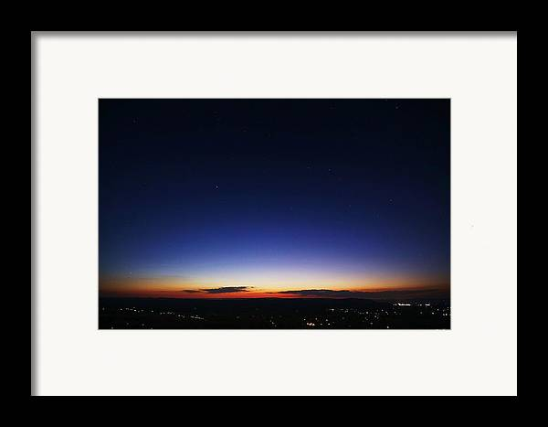 Twilight Framed Print featuring the photograph Age Is Opportunity by Mitch Cat
