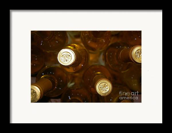 Wine Framed Print featuring the photograph Aged Well by Debbi Granruth