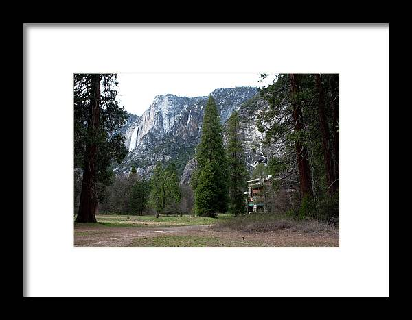 Yosemite Framed Print featuring the photograph Ahwahnee Setting by Lorraine Devon Wilke