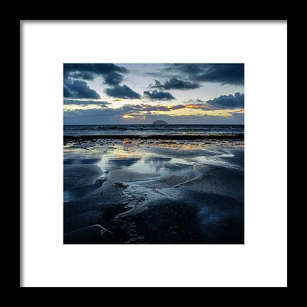 Scotland Framed Print featuring the photograph Ailsa Craig by Peter OReilly