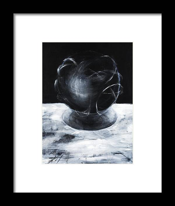 Esoteric Framed Print featuring the painting Aima by Cecilia August Sand