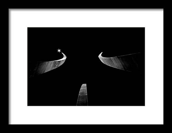 Monument Framed Print featuring the photograph Air Force Monument by Caroline Clark