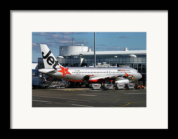Airbus Framed Print featuring the photograph Airbus A320-232 by Tim Beach