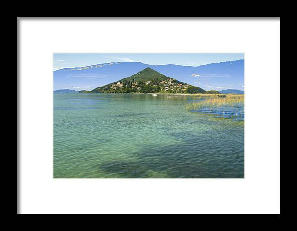 Seascapes Framed Print featuring the photograph Aix by Mary Mansey