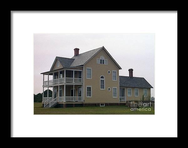 Alabama Framed Print featuring the digital art Alabama Coastal Home by Richard Rizzo