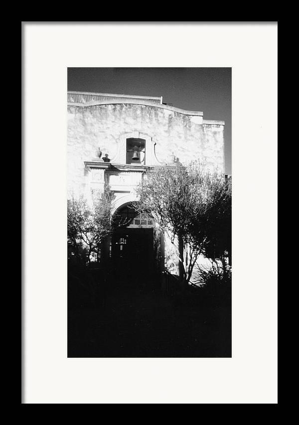 Alamo Framed Print featuring the photograph Alamo by Pharris Art