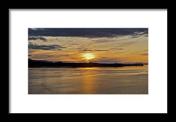 Alaska Framed Print featuring the photograph Alaskan Sunset by Robert Joseph