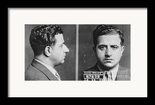 1936 Framed Print featuring the photograph Albert Anastasia (1902-1957) by Granger