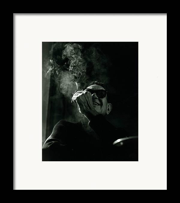 Portrait Framed Print featuring the photograph Albert Hadley by Rusty Walton