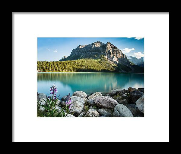 Landscape Framed Print featuring the photograph Alberta's Backyard by Russell Mann