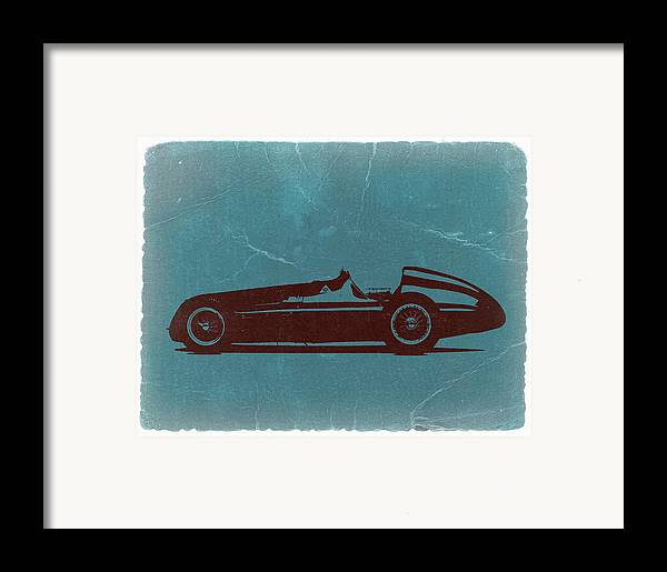 Framed Print featuring the photograph Alfa Romeo Tipo 159 Gp by Naxart Studio