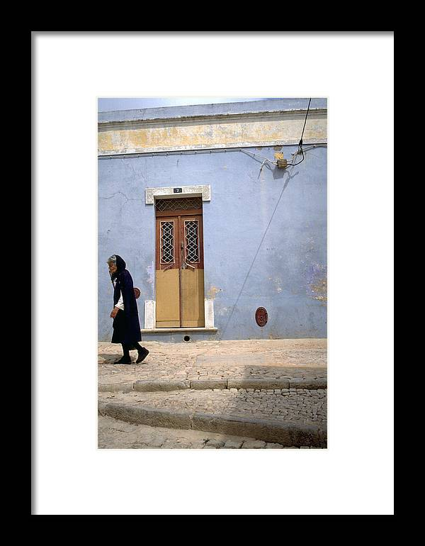 Algarve Framed Print featuring the photograph Algarve II by Flavia Westerwelle