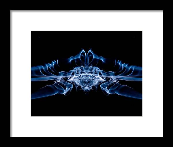 Smoke Framed Print featuring the photograph Alien Bug by Val Black Russian Tourchin