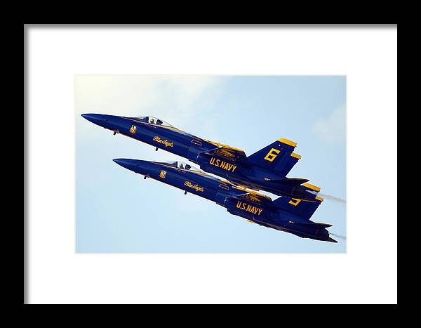 Air Show Framed Print featuring the photograph Aligned For The Future by Aviation Heritage