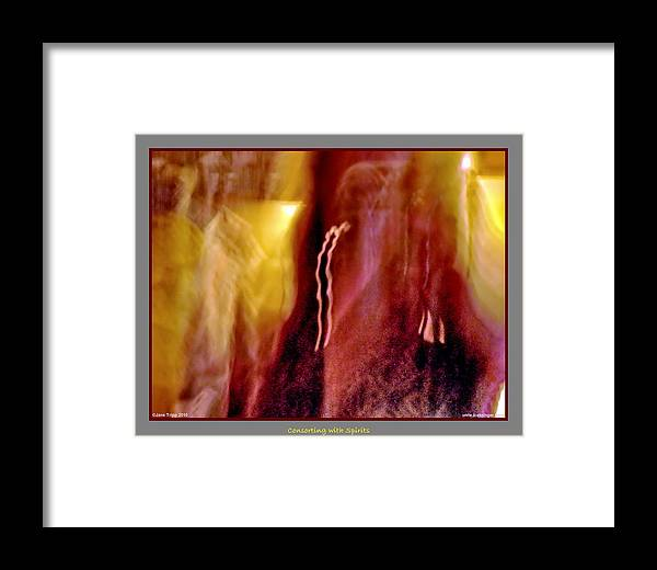 Ghost Framed Print featuring the photograph All Around Me by Jane Tripp