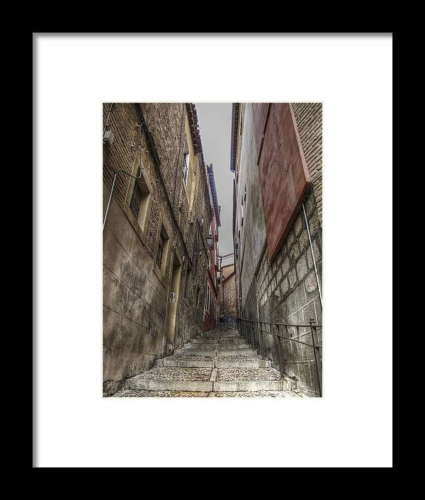 Photography Framed Print featuring the photograph Alley by Ignacio Leal Orozco