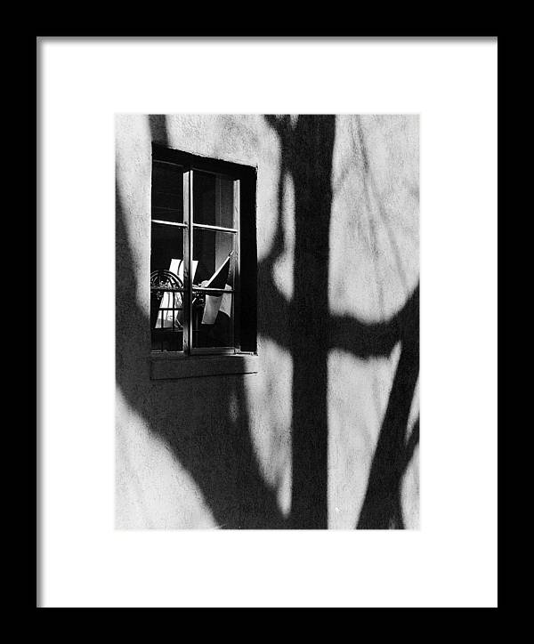 Alley Framed Print featuring the photograph Alley Shop Window by Jim Furrer