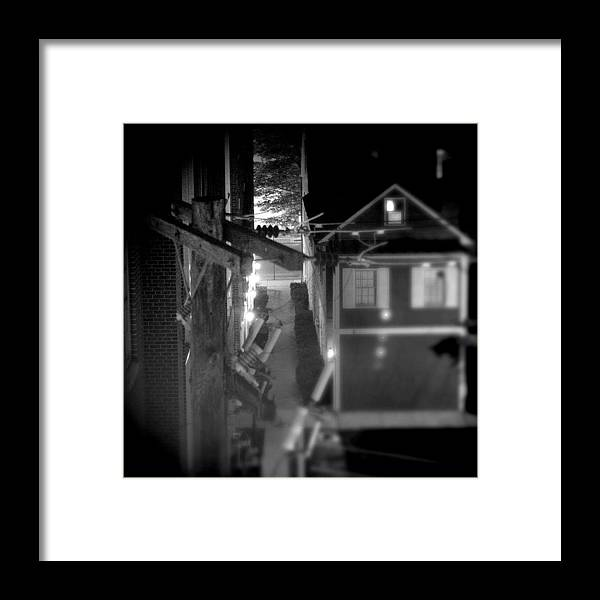 Alley Framed Print featuring the photograph Alley To High by Jean Macaluso