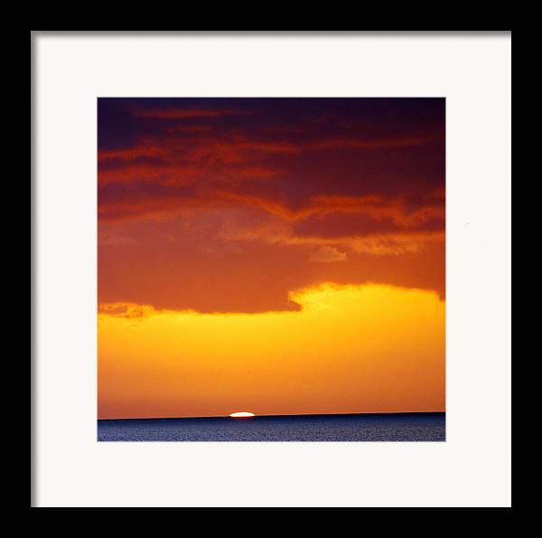 Framed Print featuring the photograph Almost  by JK Photography