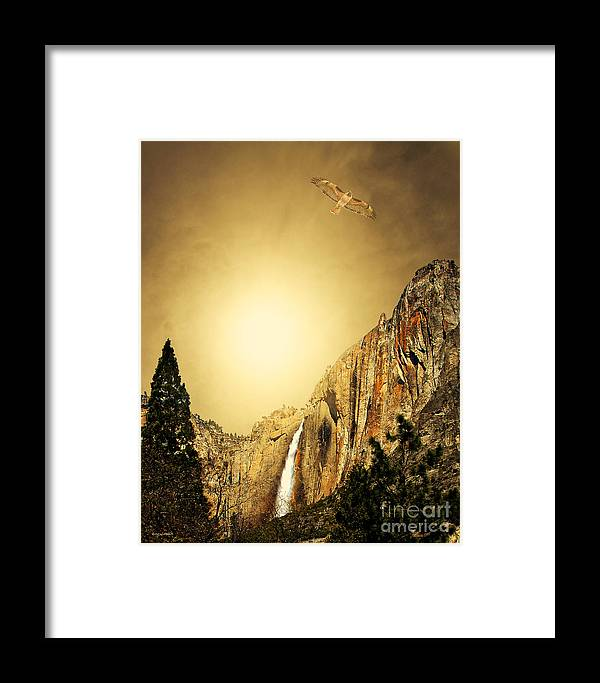 Landscape Framed Print featuring the photograph Almost Heaven by Wingsdomain Art and Photography