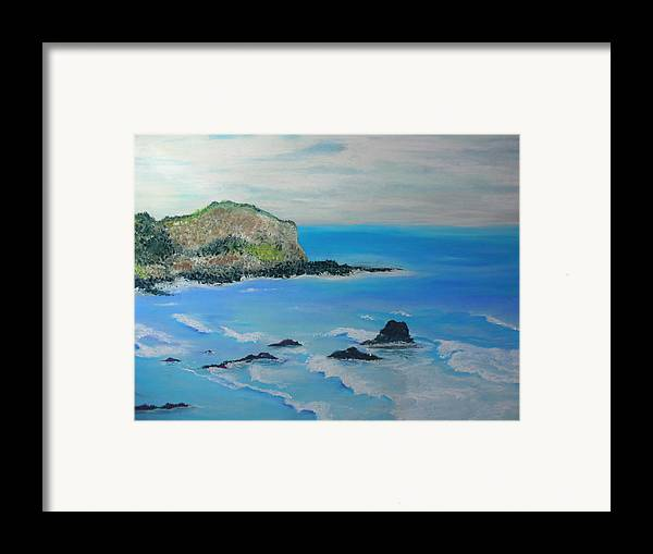 Hawaii Framed Print featuring the painting Aloha by Melinda Etzold