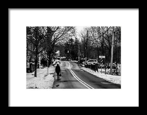 Alone Framed Print featuring the photograph Alone by Ray Greyling