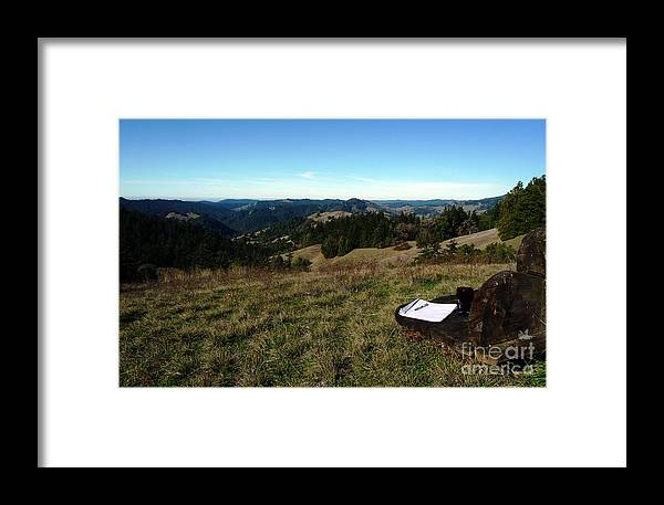 Introspection Framed Print featuring the photograph Alone Time by JoAnn SkyWatcher