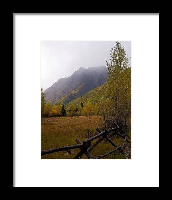 Colorado Framed Print featuring the photograph Along The Alpine Loop by Marty Koch