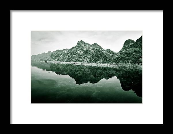 Yen Framed Print featuring the photograph Along The Yen River by Dave Bowman