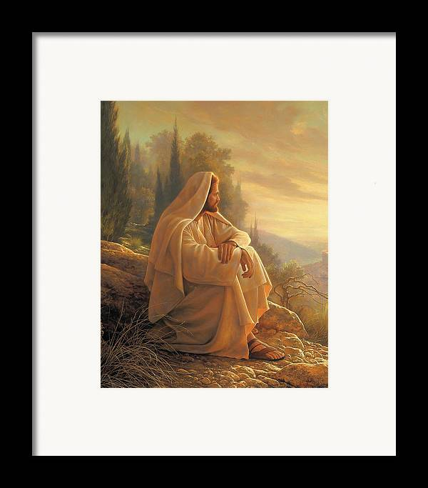 Alpha Framed Print featuring the painting Alpha And Omega by Greg Olsen