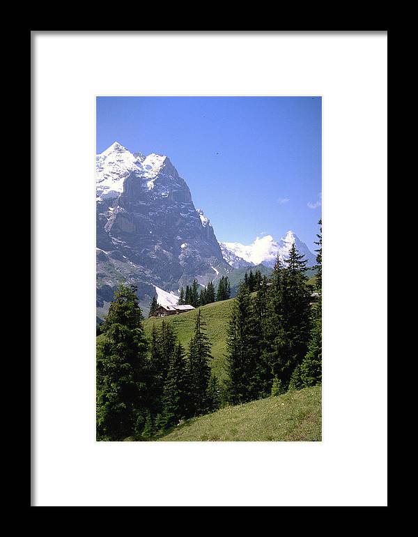 Alps Framed Print featuring the photograph Alps by Flavia Westerwelle