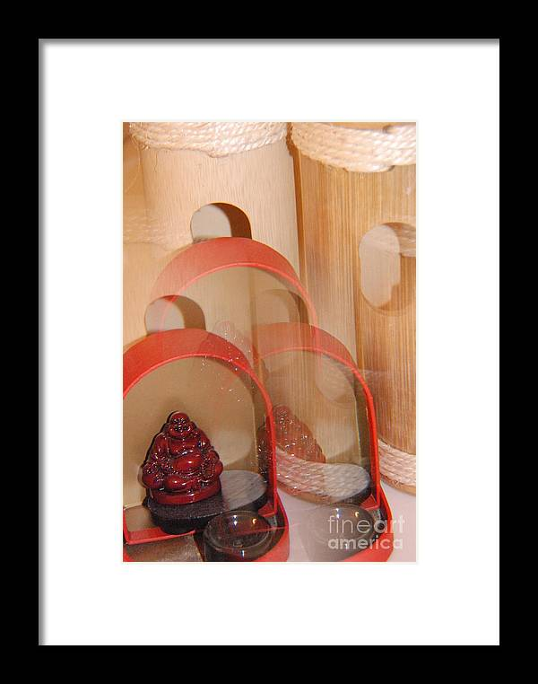 Buddha Framed Print featuring the photograph Altar My Perception by Sean-Michael Gettys