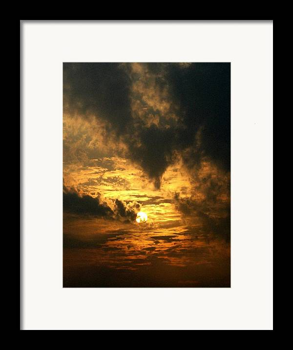 Daybreak Framed Print featuring the photograph Alter Daybreak by Rhonda Barrett