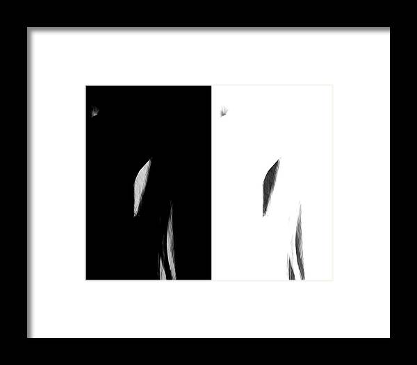 Abstract Framed Print featuring the photograph Alternatives by Alexis Harris