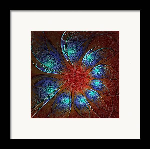Digital Art Framed Print featuring the digital art Always And Forever by Amanda Moore