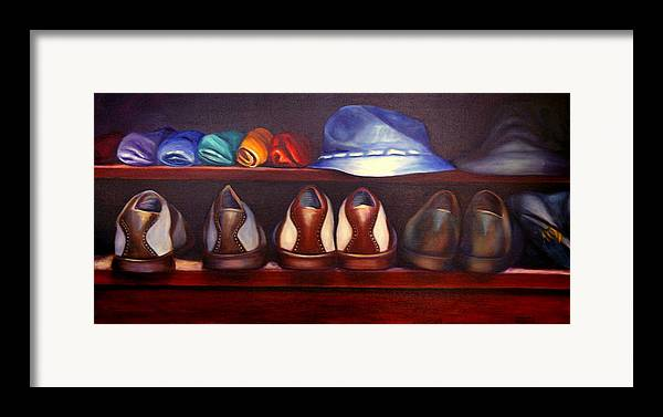 Golf Framed Print featuring the painting Always Options by Shannon Grissom