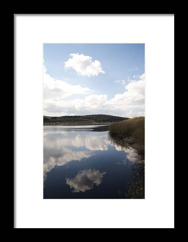 Reservoirs Framed Print featuring the photograph Alwen Reservoir by Christopher Rowlands