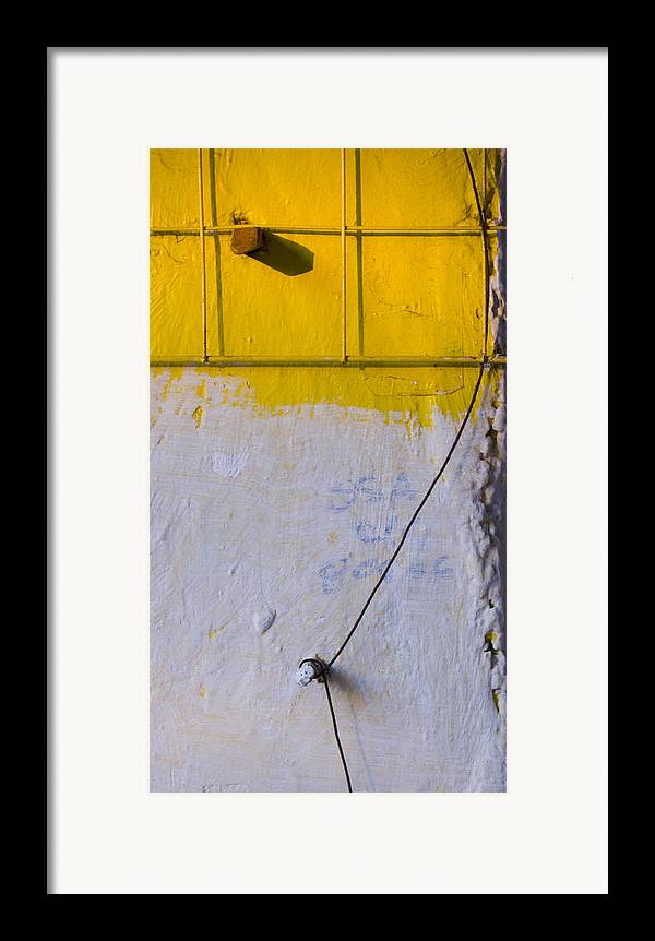 Abstract Framed Print featuring the photograph Amarillo by Skip Hunt
