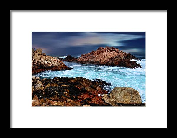 Landscapes Framed Print featuring the photograph Amazing Coast by Phill Petrovic