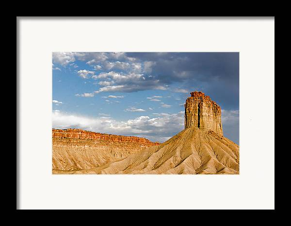 Mountain Framed Print featuring the photograph Amazing Mesa Verde Country by Christine Till