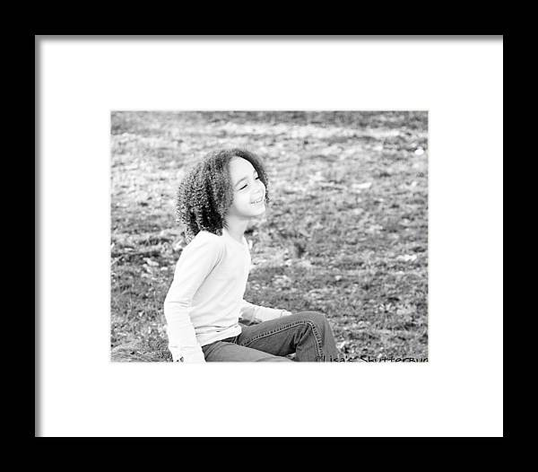 Framed Print featuring the photograph Amelia 1 by Lisa Johnston