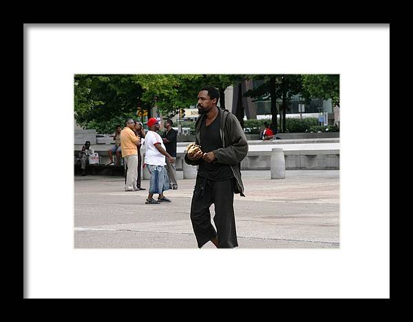 People Framed Print featuring the photograph America by Paul SEQUENCE Ferguson       sequence dot net